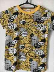 新品 エーアーベー 半袖Tシャツ 120 イエロー
