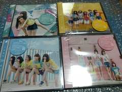 CD 乃木坂46 逃げ水 初回盤ABCD 4枚