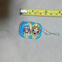 ゲーセン景品『ONE PIECE缶キーホルダー(フランキー+サニー)』