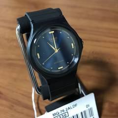 新品?カシオ CASIO レディース 腕時計 MQ76-2A ネイビー