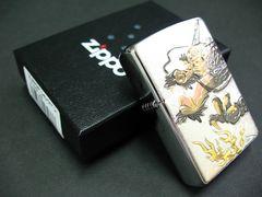 ZIPPO 電鋳板プレート貼り 近世絵画 ドラゴン2