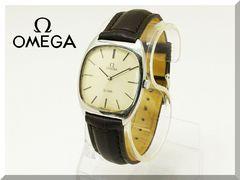OMEGA☆オメガ デビル メンズ 手巻き腕時計 アンティーク
