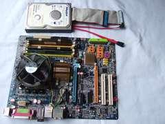★★GIGABITE 965P-DS3P CPU、クーラー、メモリ、おまけ付き★★
