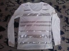 スパンコール Tシャツ