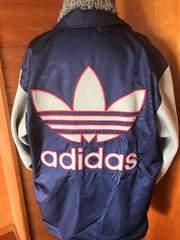 adidas originals★コーチジャケット★古着★BIGトレフォイル★