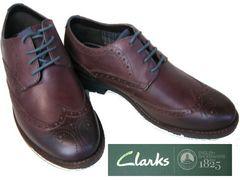 クラークス婚活パーティー紳士靴ビジネス冠婚葬祭67523結婚式7.5