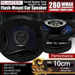★カースピーカー PL-1048 2WAY 10cmタイプ MAX280W