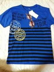 新品西松屋サングラスTシャツ140cmブルー
