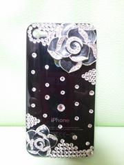 キラキラiphone4&4S用ケース(*^。^*)黒色!