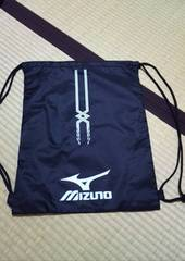 野球など、他いろいろ小物入れ袋、ナップサック、mizuno、ミズノ