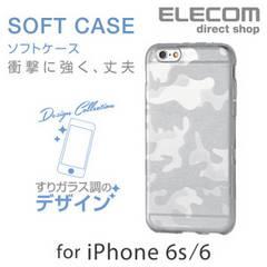 【送料込】ELECOM iPhone 6用 デザインソフトケース