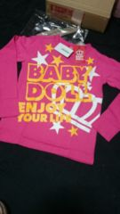 新品  babydoll  140�p  pink
