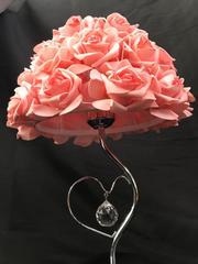 薔薇ランプ ピンクローズランプ ゆうパック発送