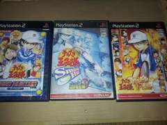 PS2☆テニスの王子様☆3本まとめ売り♪