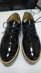 ■超美品JEANASISエナメル靴■