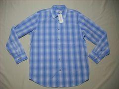 fy928 男 CK CALVIN KLEIN カルバンクライン チェックシャツ M