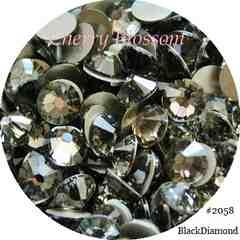 +CB+スワロss3ブラックダイアモンド◆100粒◆即決#2000