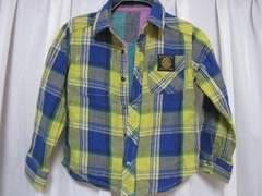 ♪F.O.KIDSエフオーキッズ♪リバーシブル長袖シャツ110