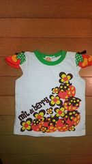 ミルデベリー  Tシャツ  いちご