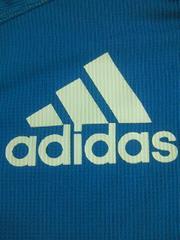 adidas アディダス ヒーロー デザイン Tシャツ ブルー 160 COOL ユニフォーム風