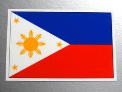 1■フィリピン国旗ステッカー1枚 シール ☆即買!■