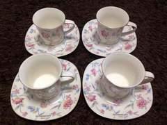 GIVENCHYジバンシーのカップ&ソーサーセット   4個セット