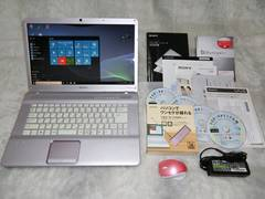 上質ピンクVAIO Core2Duo2.53G/500/Win10/ブルーレイ/地デジ_147