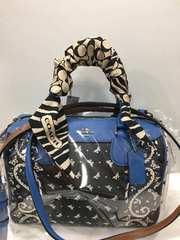 ◆ 特価  ツイリー coach バッグ につけても スカーフ マフラー