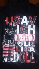LIZ LISA dollウサビッチとコラボフード付 長袖 Fサイズ