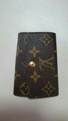 Louis Vuittonモノグラム6連キーケース!本物。中古