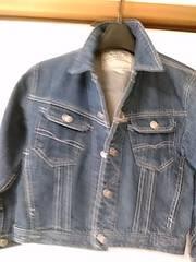 120サイズ ジージャン デニムジャケット レタパ560