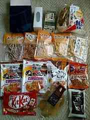 シガール・麻布かりんと・イカの珍味・煎餅・チョコ等 計16品