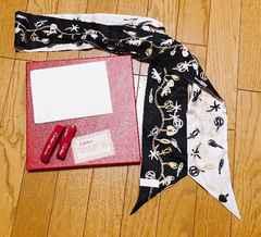正規品カルティエリボンスカーフ