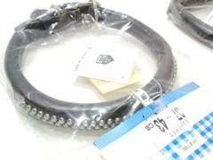 訳アリ送円20kg無双甲丸首輪YP4136黒55cmブラック37~43cm犬用BlackDog
