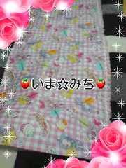 プリキュア★お花レース付★カフェカーテン★ハンドメイド