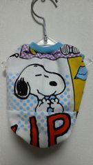 ハンドメイド*スヌーピーTシャツ*コミック柄・水色・バイカラー・犬用*SS
