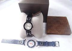 500スタ本物正規グッチ129.4 Uプレイコレクション付替えベルトベゼル付腕時計