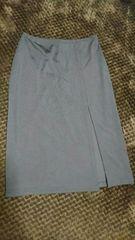 深スリットタイトスカート