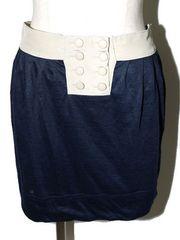 FLORENT フローレント スカート ベージュ×ネイビー