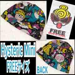 【Hysteric Mini/FREE】総柄ベビーワッチ/ブラック