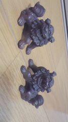真鍮製★狛犬の置物★