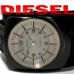極レア 1スタ★ディーゼル【ベルト一体型】大型腕時計