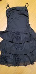 美品 黒ワンピースドレス9号
