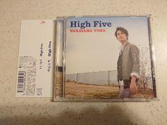 中山優馬「High Five」初回DVD+帯付/NYC