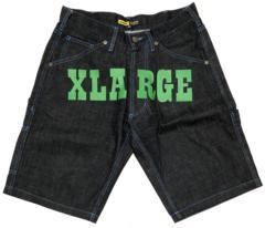 XLARGE エクストララージ ロゴデニムショーツ 30