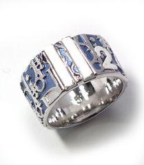 正規クイスチャンディオールトロッターリングブルー5Diorレディース約9号指輪アクセサアリー