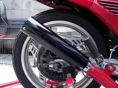 黒 エンデ サイレンサー 50.8 [BEET CB CBX CBR FX GS GSX XJR