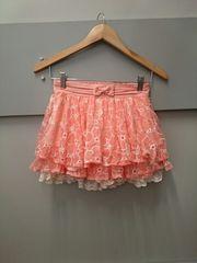 LIZ LISA☆花刺繍スカパン