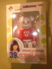 一番くじ 元SKE48 ベアブリック 金子栞 デザイン
