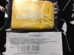 B'z PARTY 非売品ポーチ付きタオル 稲葉浩志 松本孝弘
